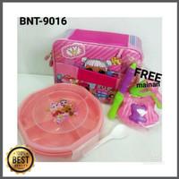 FREE Mainan untuk SET Kotak Makan dan Lunch Bag LOL (SET-9016) Murah