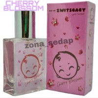 PARFUM ZWITSBABY aroma CHERRY BLOSSOM 35ML FREE POUCH || ZWITBABY