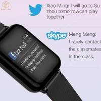 smartwatch B57 smart watch heart rate monitor blood pressure