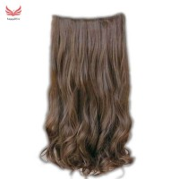 5 Clips In 60cm Women Ladies Long Curly Wavy On Hair Extensions Full