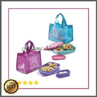 Dijual TERMURAH Foodie Buddy Set Ungu Toska 2pcs Limited