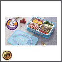 Promo Lunchbox kotak makan stainless bento-2506 Limited