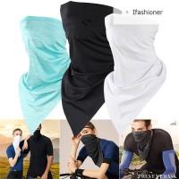 Masker Wajah Breathable Seamless Anti Debu untuk Outdoor / Riding