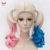 Fast Shipping Hair Extensions Batman Suicide Squad Harley Quinn