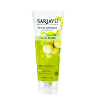 FLASH SALE SARIAYU FACIAL SCRUB 75gr NEW - PUTIH LANGSAT HALUS