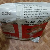 TERLENGKAP Thai Tea Number One Chatramue 400gr BPOM TERLARIS