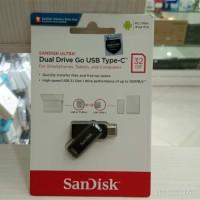 FLASHDISK OTG SANDISK DUAL DRIVE GO TYPE-C USB 3.1 32GB