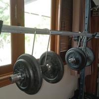 Adjustable Dumbell Power Hook Untuk Memudahkan Dumbel Bench Press