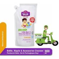 Sleek Baby Bottle Nipple & Accessories Cleanser Refill 900ml