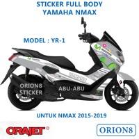 Sticker Decal Fullbody Nmax Model YR-1 2015-2019