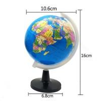 Globe Mini - Atlas Peta Bola Dunia Edukasi Belajar Anak Laki Perempuan