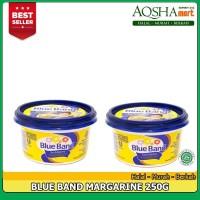 BLUE BAND MARGARINE CUP MENTEGA BUTTER BLUEBAND 250G