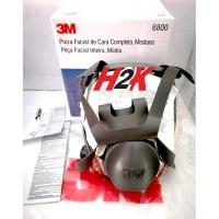 Masker 3M Full Facepiece - Reusable Masker Respirator 6800