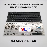 Keyboard Samsung NP370 NP375 NP450 NP450R4E Black