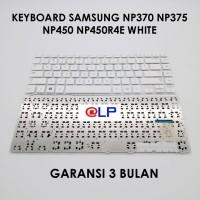 Keyboard Samsung NP370 NP375 NP450 NP450R4E White