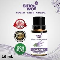 Pure Essential Oil Lavender Minyak Organik Smell Well 100% Alami Murni