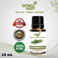 Pure Essential Oil Citronella Minyak Sereh Wangi Smell Well 100% Alami