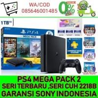 PS4 slim 1TB megapack Ps 4 bundle hits 1 TB 4 game God OfWar GTAV GTA5