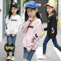 Sweater anak mickey mouse