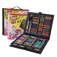 150 pcs pensil warna alat tulis set crayon colouring set 150 pcs art s
