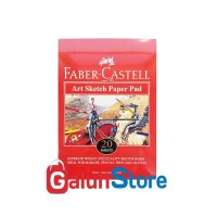 Faber Castell Buku Gambar / Art Sketch Paper Pad A5 20 Sheets