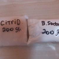Cisod bahan co2 diy aquascape citric acid dan baking soda 200gr