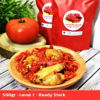Chicken Wing / Sayap Ayam Balado / Spicy Chicken Wing - 500gr - Lvl 1