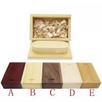 (POSTINGAN PROMOSI) Flashdisk Kayu Box Usb Wooden Oval Free grafir