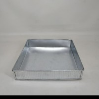 Loyang bolu lapis surabaya cake kotak Alumunium Uk. 32 tinggi 4 cm