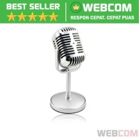Condenser Microphones Classical Design Vintage Retro Karaoke VCall Mic