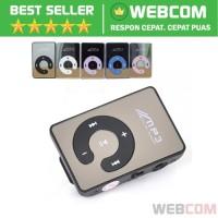 MP3 Player TF Card dengan Klip C-Logo - Mini Mp3 Player Portable Murah