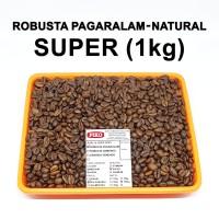 Kopi Biji Sangrai Robusta Pagaralam ( 1kg )