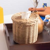 Tiari Tissue Box / Rattan / Tempat Tisu