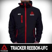 Jaket Tracker Reebok- UFC Hitam