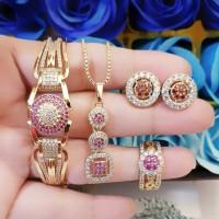 xuping set perhiasan lapis emas 24k h702
