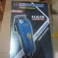 alat cukur cukuran mitsuyama wahl model bisa di charger MS5026 MS 5026