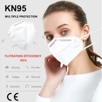 Masker kn95 masker Medis Respirator mask anti polusi virus gb2626-2006
