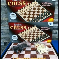 Board games catur chess lipat magnet portable traveling