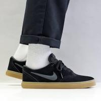 Sepatu Skate Nike SB Check Solarsoft Black Gump Original Murah