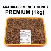 Kopi biji sangrai.Arabika Semendo honey (1kg)