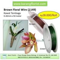Floral Wire (1149), kawat bunga, aksesoris toko bunga