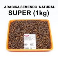 Kopi biji roasting arabika semendo super ( 1kg ) - Biji Kopi