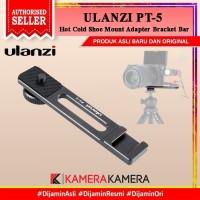ULANZI PT-5 PT5 Hot Cold Shoe Mount Adapter Bracket Bar for Mic LED