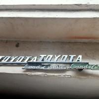emblem apron Toyota Fj 40