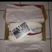 Sepatu Compass Gazelle White Red Size 41