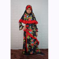Long Dress Gamis Maxi Hijab perempuan 8 - 12 tahun - Jfashion Masayu