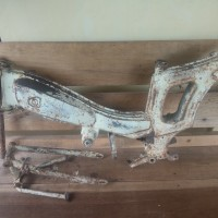 Rangka motor mobylette