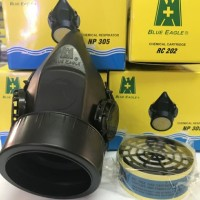 Masker Blue Eagle NP 305 + Filter RC 202 atau RC 203 Respirator Safety