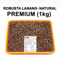 Biji kopi robusta lanang Sumsel 1kg sangrai / roasted beans kopi Piko