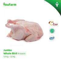 Ayam Utuh |Karkas -Jumbo Chiken Whole Bird 1,4 kg - 1,5 kg (Frozen)